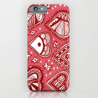 iPhone & iPod Case featuring Love Hearts Pink by Ellie And Ada