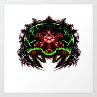 Super Metroid: Angry Bab… Art Print