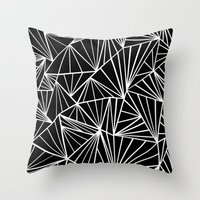 Ab Fan Zoom Throw Pillow