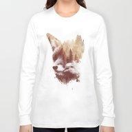 Long Sleeve T-shirt featuring Blind Fox by Robert Farkas