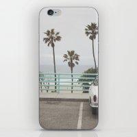 Cruisin Manhattan Beach iPhone & iPod Skin