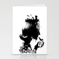 WOMAN SOLDIER Stationery Cards