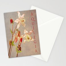 Aquilegia 3 Stationery Cards