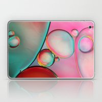 Oil Bubbles Abstract Laptop & iPad Skin