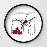 I'm Saving Up All My Lov… Wall Clock