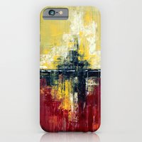 Shanghai - Textured abstract painting iPhone 6 Slim Case
