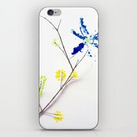 Flower Me iPhone & iPod Skin