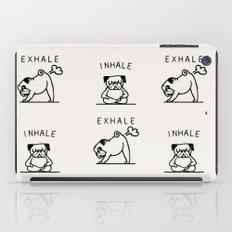 Inhale Exhale Pug iPad Case