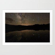 Perspective of Twilight Art Print