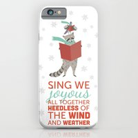 Raccoon & Pigeon Holiday! iPhone 6 Slim Case