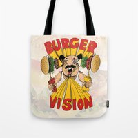 Burger Vision Tote Bag