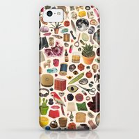 iPhone 5c Cases featuring TABLE OF CONTENTS by Beth Hoeckel Collage & Design