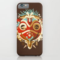 iPhone Cases featuring The Days of Gods and Demons by The Art of Danny Haas