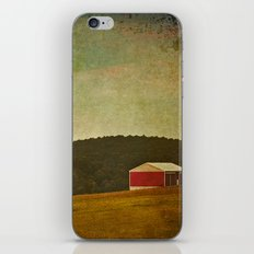 New England Barn iPhone & iPod Skin