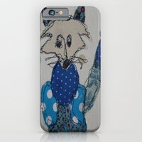 iPhone & iPod Case featuring Mr Foxy by Trudi Drewett Illustration