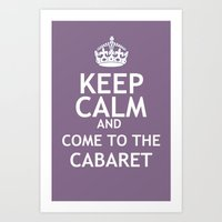 Keep Calm And Broadway: … Art Print