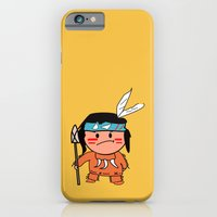 iPhone & iPod Case featuring Little Red Indian by justang8