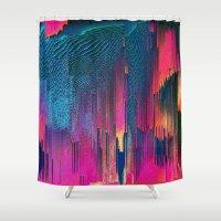 Party Puke  Shower Curtain
