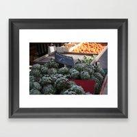Art De Choke Framed Art Print