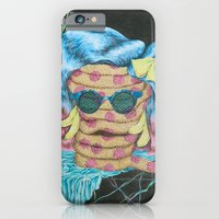 iPhone Cases featuring Still Life with Pizza Snake by cahill wessel