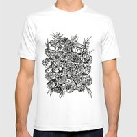Wedding Flowers  Mens Fitted Tee White SMALL