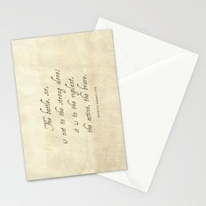 The Battle by Patrick Henry Stationery Cards