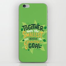 Greatest Goal iPhone & iPod Skin