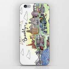 We Belong in Brooklyn iPhone & iPod Skin