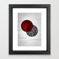 Spots Framed Art Print