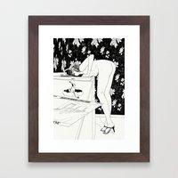 Martha Framed Art Print