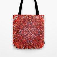 Internal Kaleidoscopic D… Tote Bag