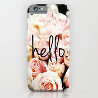 iPhone & iPod Case featuring Hello Roses by Sara Berrenson