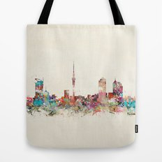 auckland new zealand Tote Bag