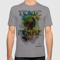 Toxic Demise Mens Fitted Tee Athletic Grey SMALL