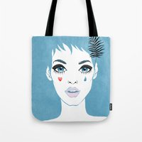 Сrying girl Tote Bag