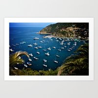 Avalon Bay Art Print