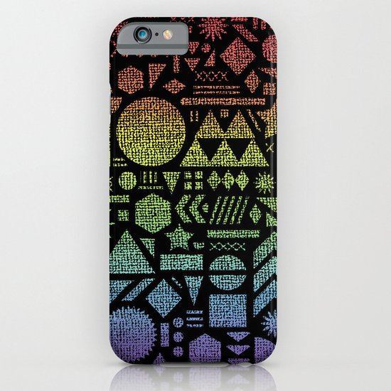 Modern Elements with Spectrum. iPhone & iPod Case