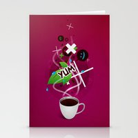 I ❤ Coffee Stationery Cards