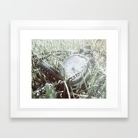 First Frost Of Winter Framed Art Print