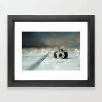 ...and then, the MAGIC happened... Framed Art Print