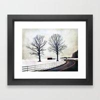 The Bend 2.0 Framed Art Print