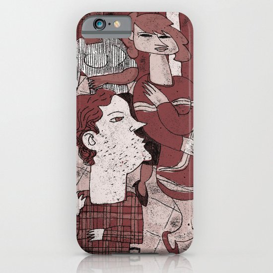 Sitting Still iPhone & iPod Case