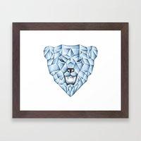 ICE BEAR Framed Art Print