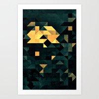 Wytyrfyre Art Print