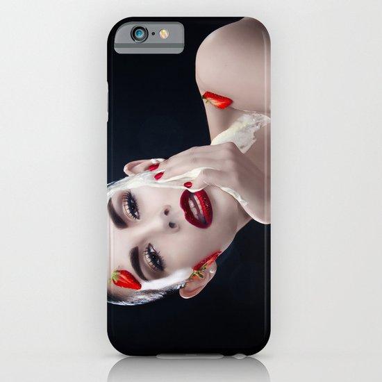 Strawberries & Cream iPhone & iPod Case