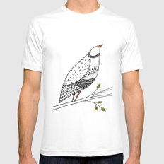 neville SMALL Mens Fitted Tee White