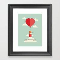 Don't Let Go Of Love Framed Art Print