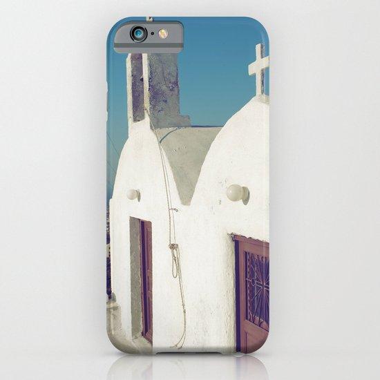 Santorini Churches II iPhone & iPod Case