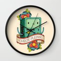 BMO | CHECK PLEASE Wall Clock