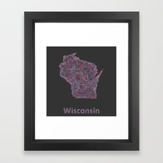 Wisconsin Framed Art Print